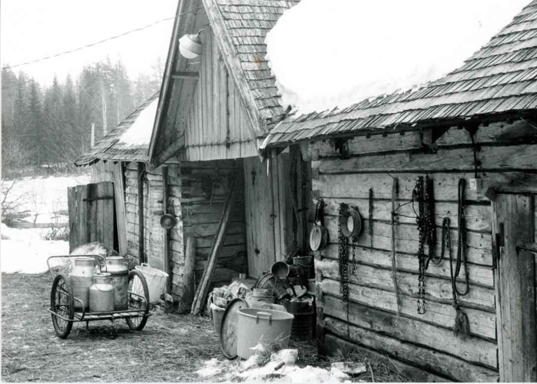 Maatilan karjarakennus