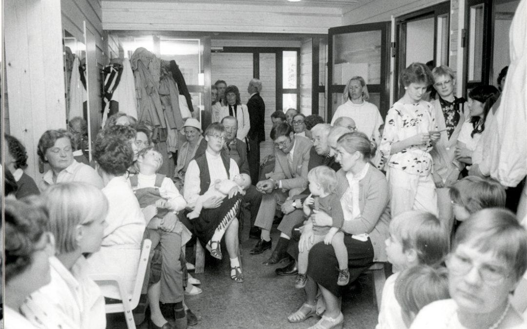 Väentungos seurakunnan leirimajalla