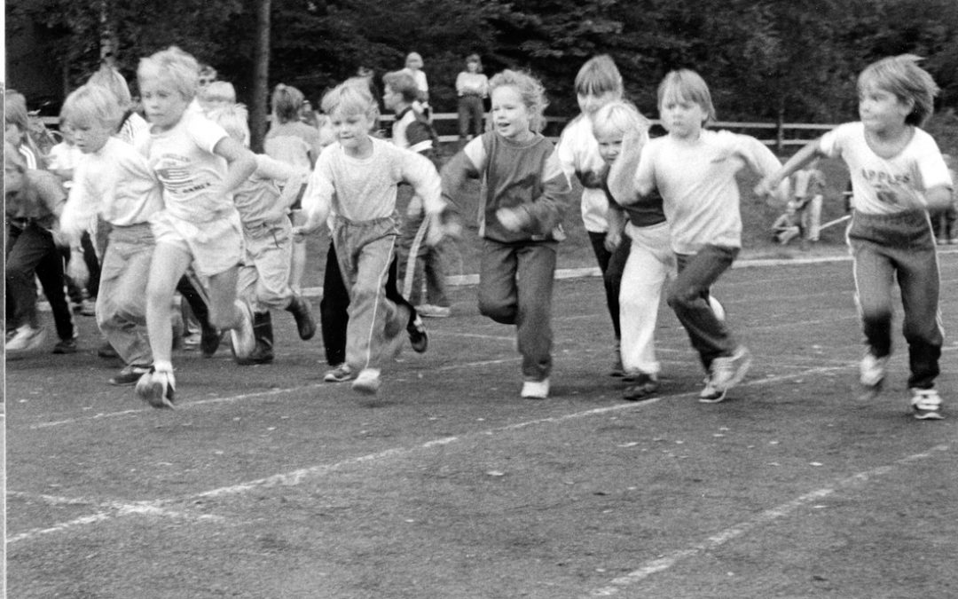 Pienten urheilijoiden juoksukilpailu