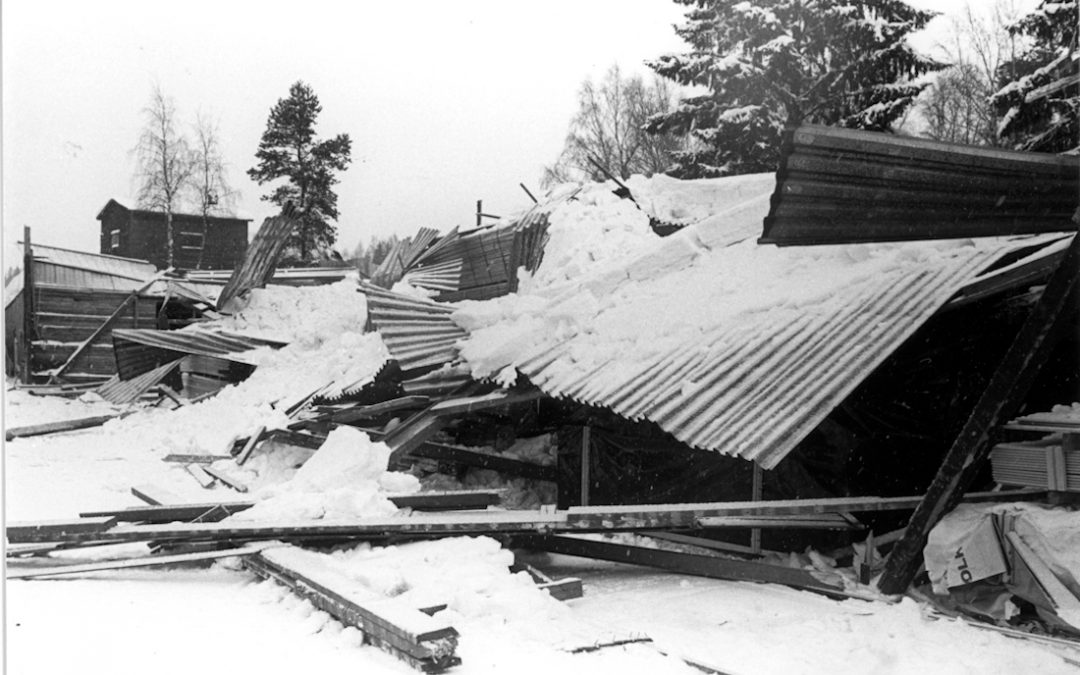 Kosken Höyläämön lumivahinko