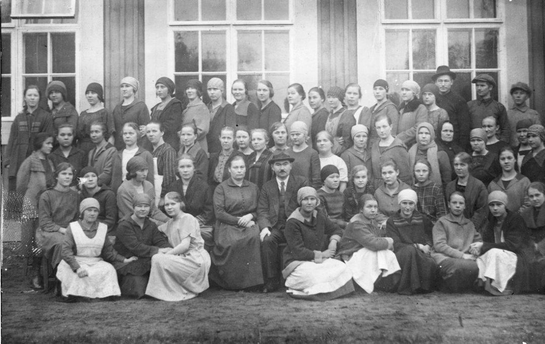 Hugo Silvosen Antrean kutomaliike v. 1924