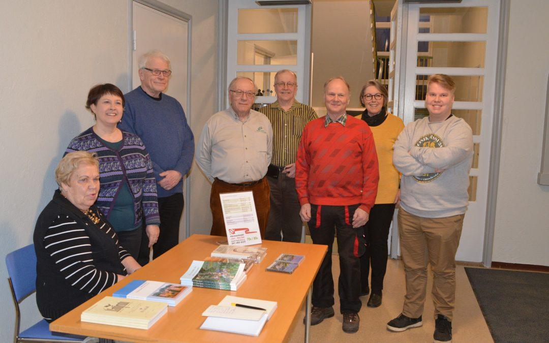 Kuvasatoa Koski-seuran vuosikokouksesta 9.3.2020
