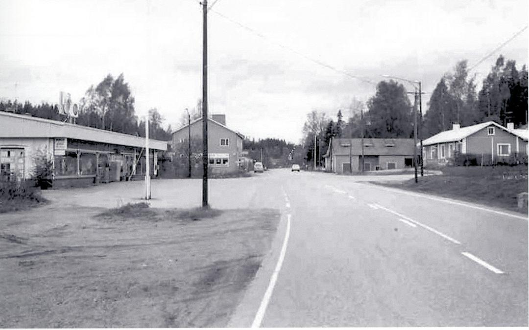 Kosken Hl keskustaajama vuonna 1979