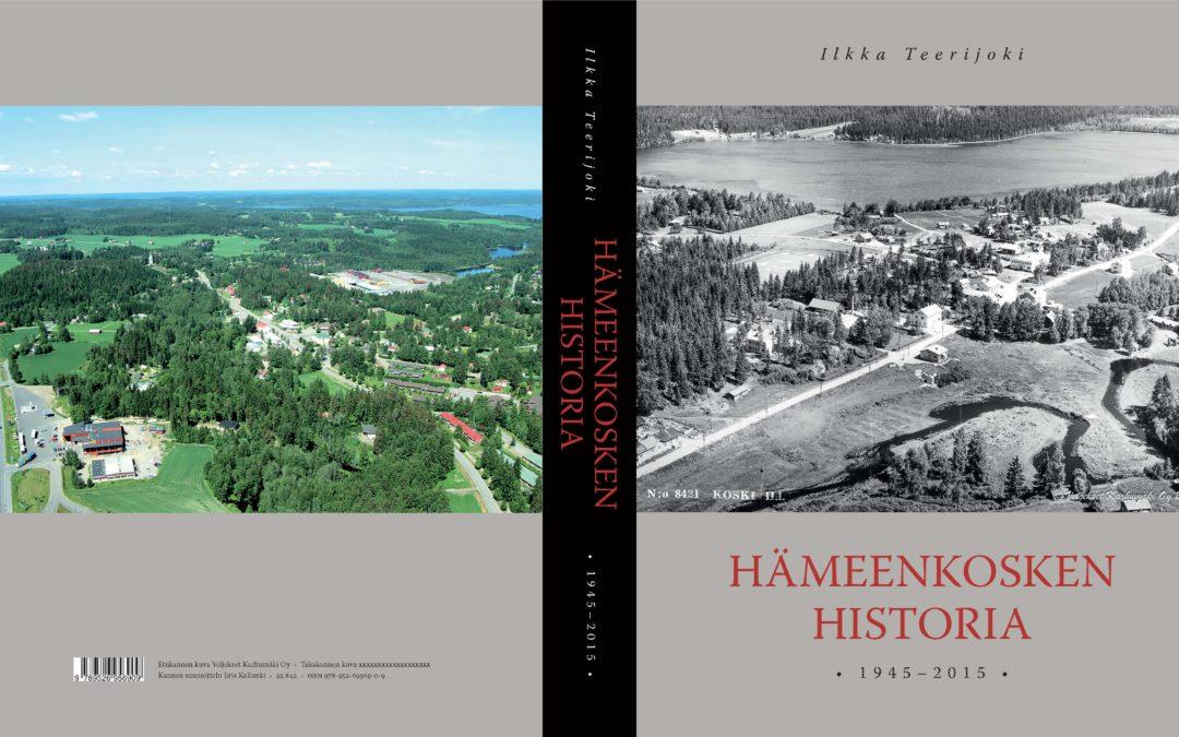Hämeenkosken historia 1945-2015 -teoksen myynti