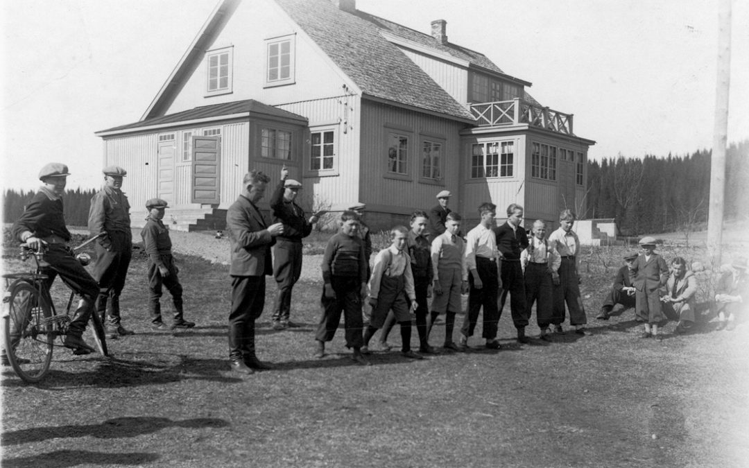Murtomaajuoksukilpailut Järvi-Kukkolassa v. 1939
