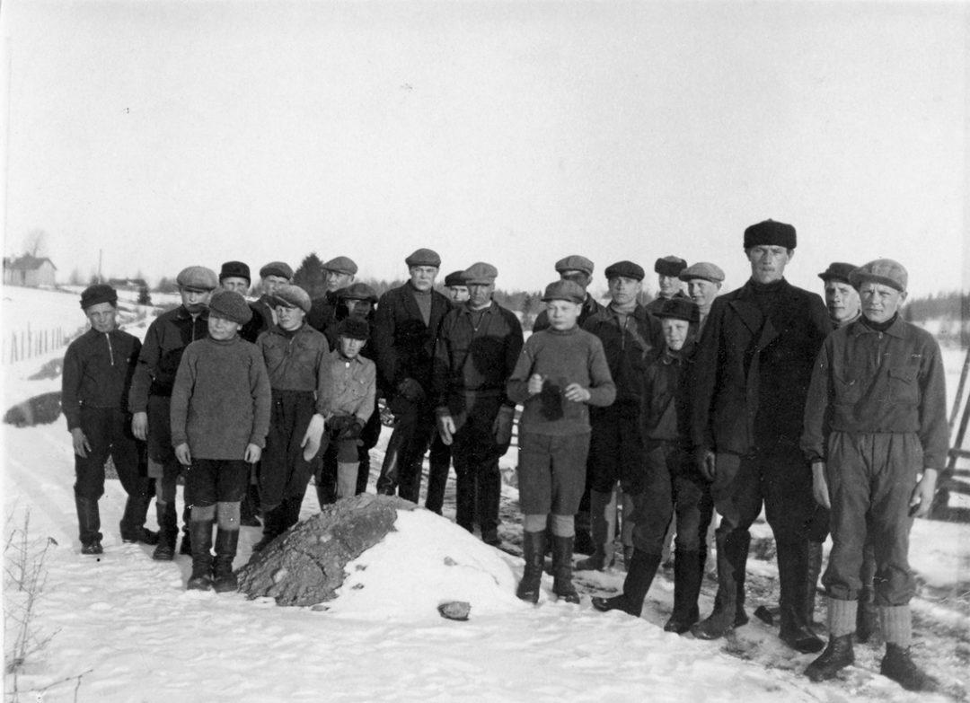Kosken Kuohun Etolan osaston 100 km marssijat v. 1926