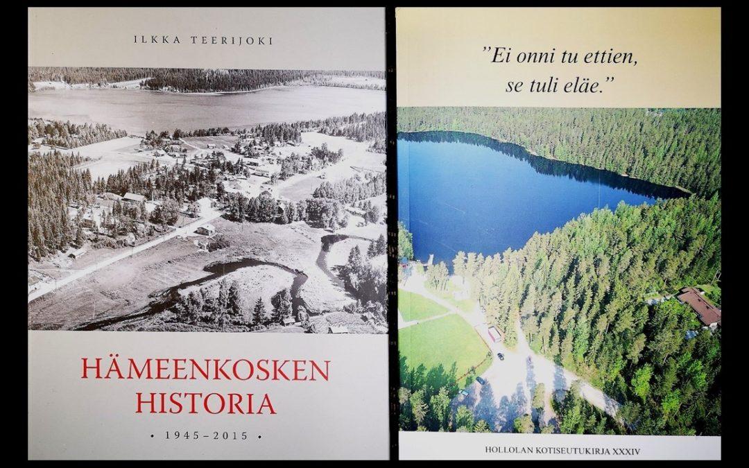 Hämeenkosken historiateos mukana Vuoden kotiseututeos -kilpailussa
