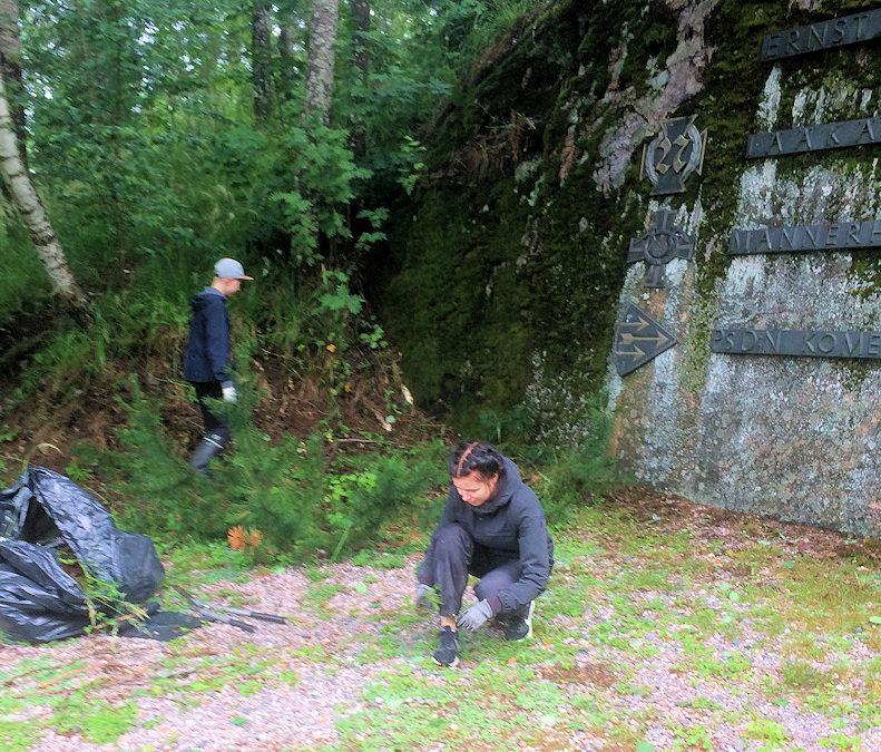 Kesätyötä nuorille muistomerkeillä ja Seuralassa