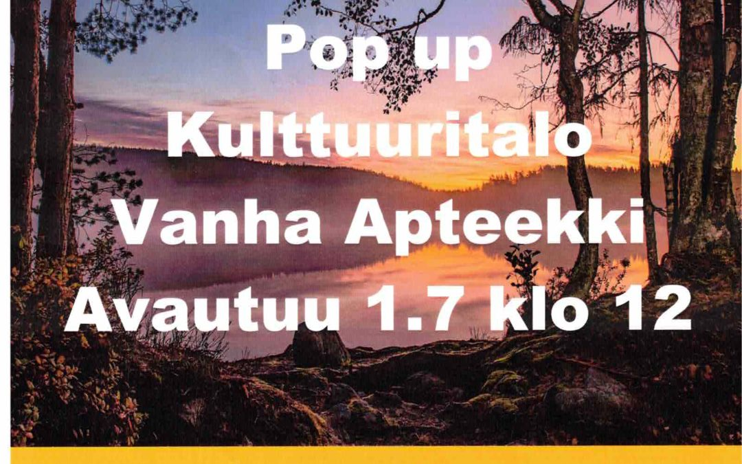 Hollolan ja Hämeenkosken pitäjien historiaa esillä Vanhan Apteekin näyttelyssä Salpakankaalla