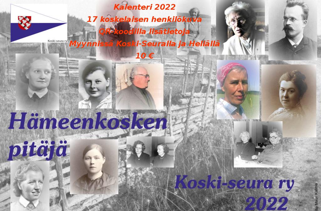 Hämeenkosken Pitäjä-Kalenteri 2022